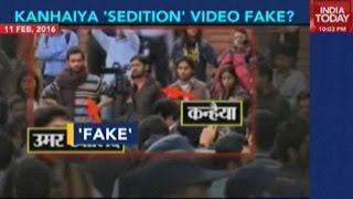 India Today unravels the viral video of Kanhaiya as fake