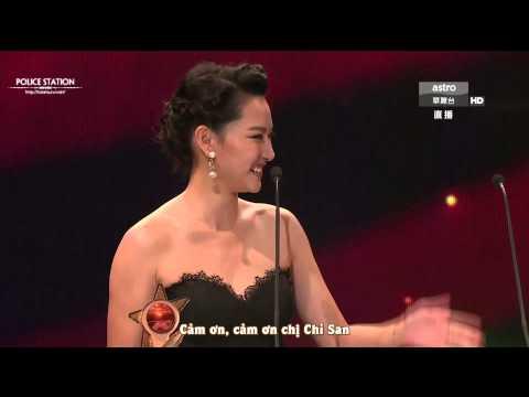 [Vietsub] TVB Star Awards Malaysia 2014 - Từ Tử San