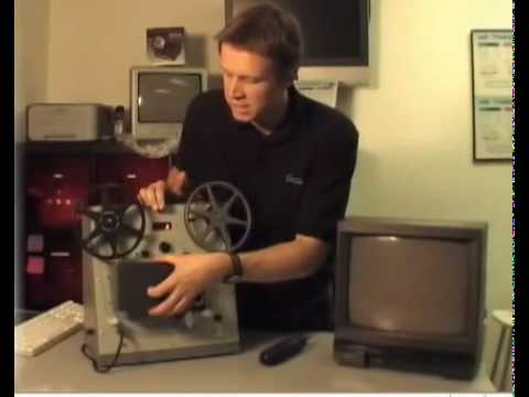 8mm Super 8 film to DVD telecine demonstration from Got Memories