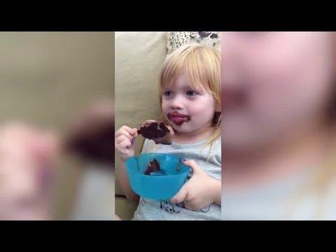 FUNNY 2019 Babies Eating Ice Cream - Big Family Fun