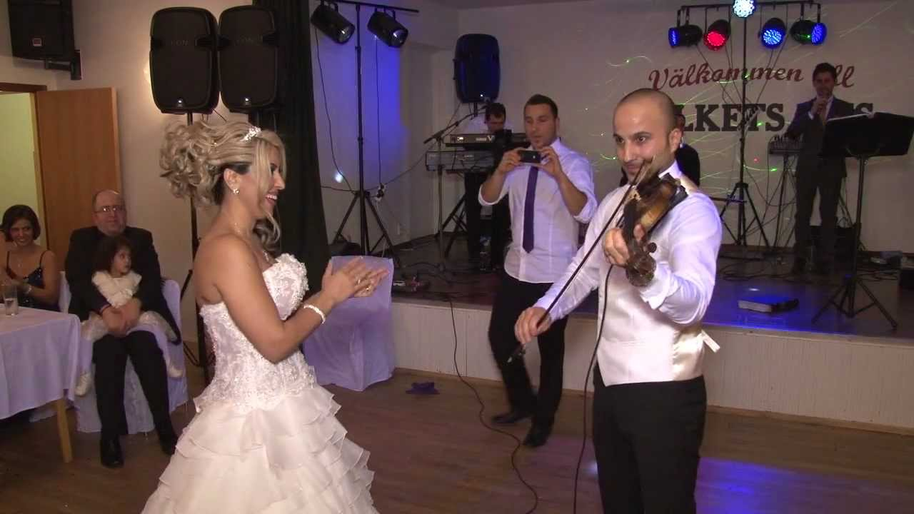 assyrian samer and rim wedding playing violin youtube