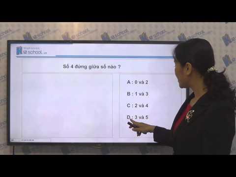 [Toán tiểu học] [Toán 1, Toán lớp 1] - Làm quen với dạng bài toán về số 4 - [LIKA-K12School]
