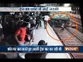 Narrow Escape: Girl survive after being run-over by train ..