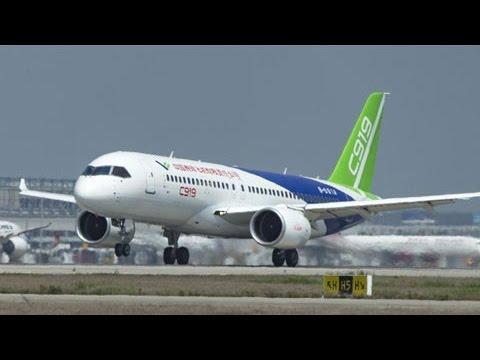 China's 1st large passenger jet C919 passes last flying review