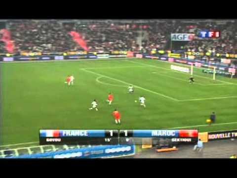 France - Maroc 2007 mi temps 1