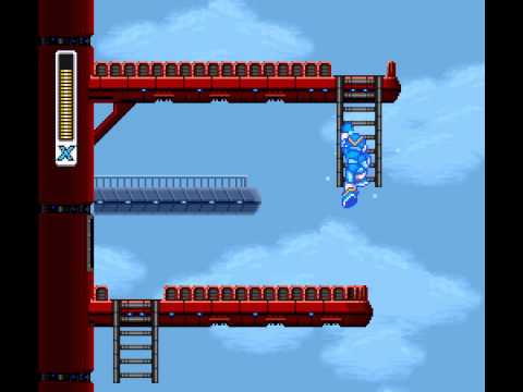 Mega Man X - Boomer Kuwanger Stage - User video