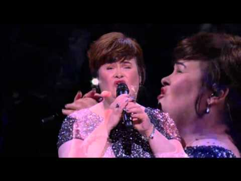 Susan Boyle on Joel Osteen: Miracle Hymn Song & The Christmas Candle Story (17 Nov 13), 1st Show