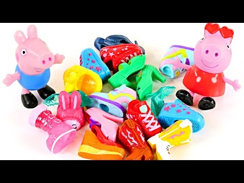 PEPPA PIG Memory Game with Surprise Eggs! Can You Match The Shopkins Toys?