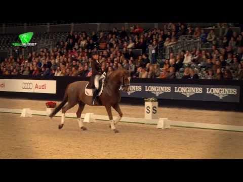 Anky van Grunsven - Handsome Jumping Indoor Maastricht 2013