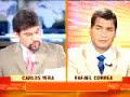 Rafael Correa Entrevistado Por Carlos Vera