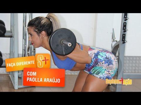 Paolla Araujo - Treino de Triceps e Ombros