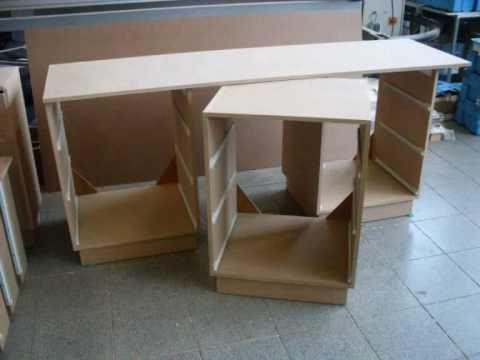 meuble bois rangement a tiroir youtube. Black Bedroom Furniture Sets. Home Design Ideas