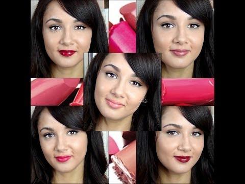 Le top 5 des rouges à lèvres de LovelyLaety
