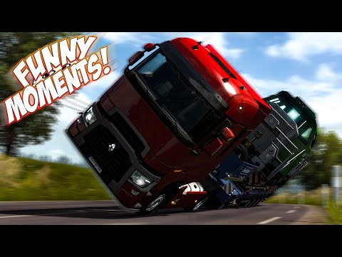EP.#14 - Funny & Random Moments - Euro Truck Simulator 2