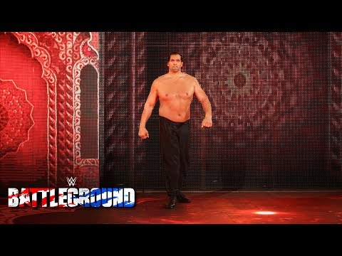 The Great Khali returns to assist Jinder Mahal in his Punjabi Prison Match WWE Battleground 2017