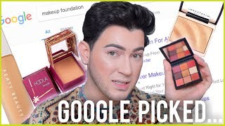 GOOGLE PICKS MY MAKEUP CHALLENGE!
