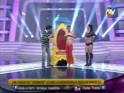 Tuteve.tv / Chicas de Combate dan la bienvenida a Nicolás Maiques