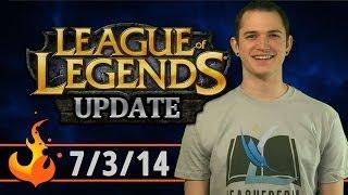 League Of Legends Update 7/3/14: Patch 4.11, New Mecha