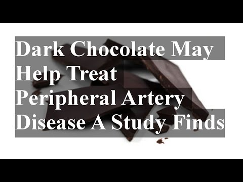 Dark Chocolate May Help Treat Peripheral Artery Disease A Study Finds