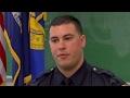 Double-amputee Marine veteran sworn in as police officer