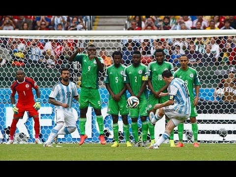 Argentina 3-2 Nigeria World Cup 2014 All Goals HD [25/06/2014]