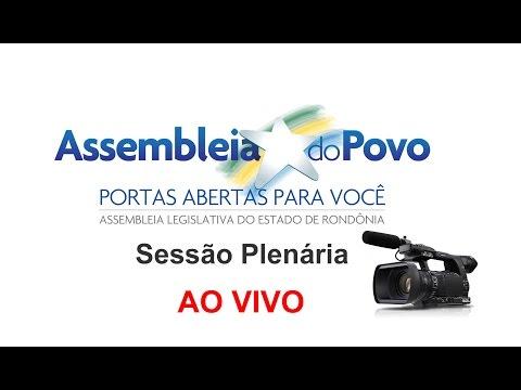 ALE TV - Sess�o Extraordin�ria  vota salario dos Militares de Rondonia- 28/01/15