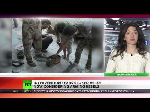 'US mulls arming Syrian rebels officially', intervention next?