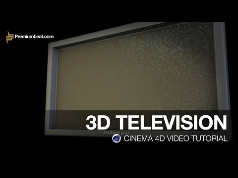 Cinema 4D Video Tutorial: 3D TV