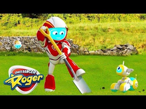Space Ranger Roger | The Gardener | Full Episode HD | Funny Videos For Kids
