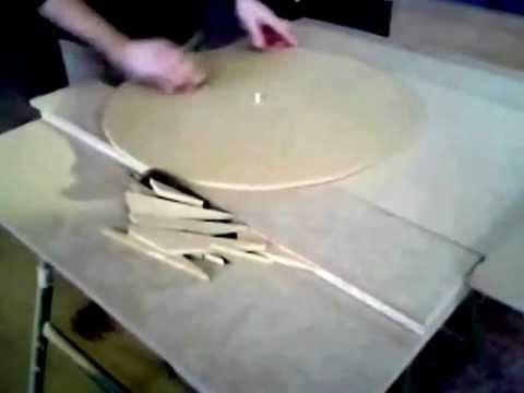 como cortar tableros en circulo con sierra circular