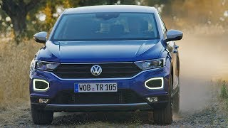 Volkswagen T-Roc (2018) Ready to fight MINI Countryman. YouCar Car Reviews.