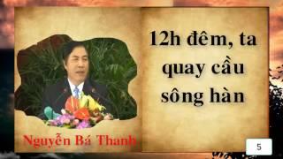 10 câu nói xúc động của Nguyễn Bá Thanh trước khi chuyển công tác