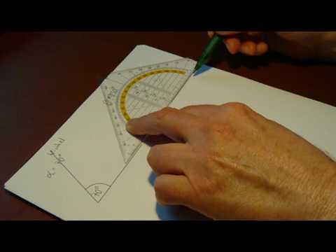 winkel messen und zeichnen ii youtube. Black Bedroom Furniture Sets. Home Design Ideas