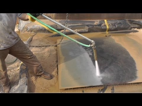 Big Diy Sandblaster Mods Hydro Sandblaster Work Safety Youtube