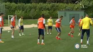 ALLENAMENTO INTER REAL AUDIO 13 05 15