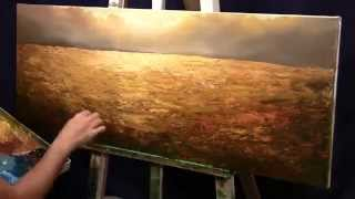 """Time Lapse Painting """"Nature's Amber"""""""
