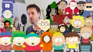 Brock Baker: 31 South Park Imprssions in 2 Minutes