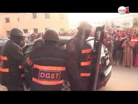عملية توقيف عناصر شبكة إرهابية خطيرة بالمغرب