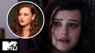 13 Reasons Why – Katherine Langford On Hannah's Emotional Death Scene BEHIND THE SCENES   MTV Movies