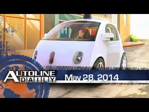 OEM Red Alert! Google Building Prototype Cars - Autoline Daily 1385