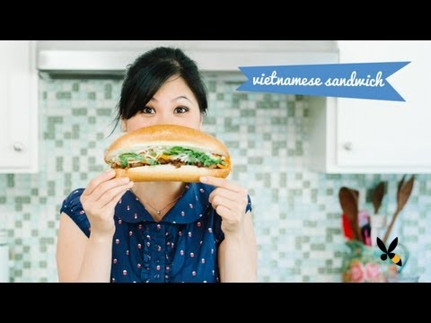Banh Mi Recipe Vietnamese Sandwich Street Food