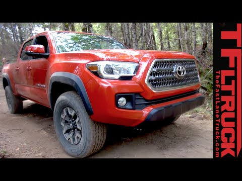 2016 Toyota Tacoma TRD Sport: First Drive Review