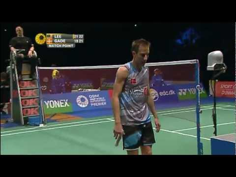 SF - MS - Lee Chong Wei vs Peter Gade - 2011 Yonex Denmark Open