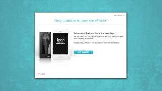 Setting Up Your Kobo Touch EReader (How-to)