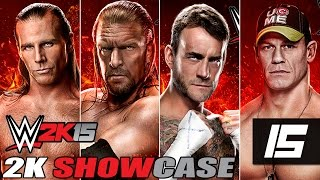 WWE 2K15 2K Showcase Let's Play Part 15 [Hustle