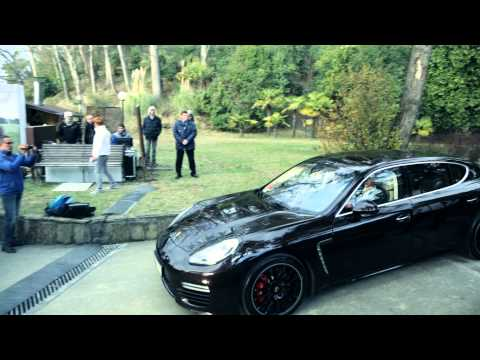 "The Panamera GTS ""by Maria Sharapova"""