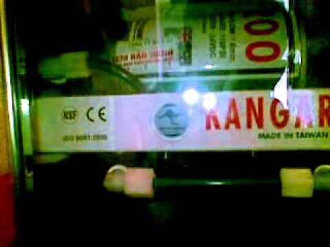 Máy lọc nước KANGAROO, Tieng keu to nhu xe tang