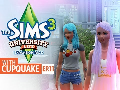 """TOO BUSY FOR LOVE"" Sims 3 University Life Ep 11"