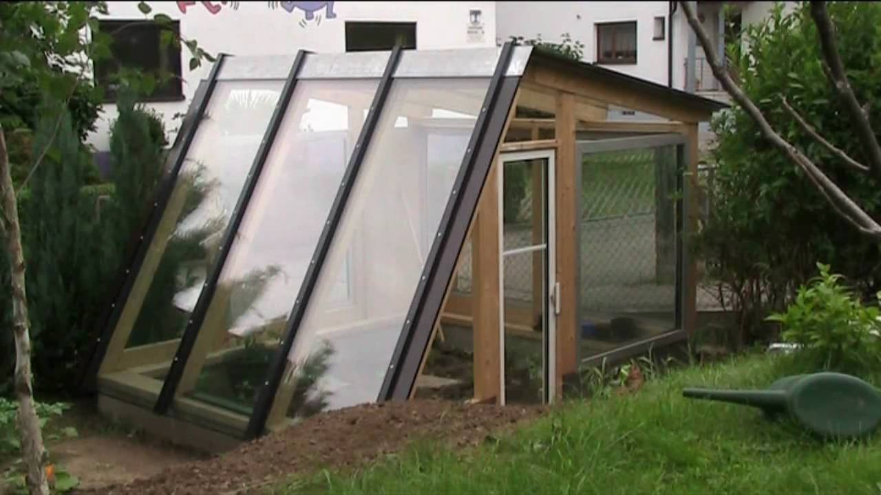 building a diy designer greenhouse in 5 minutes - YouTube