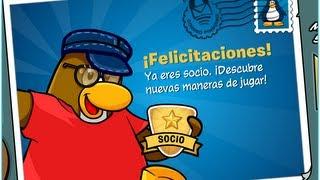 Como Ser Socio En Club Penguin ¡¡SIN PAGAR NADA!! (HD